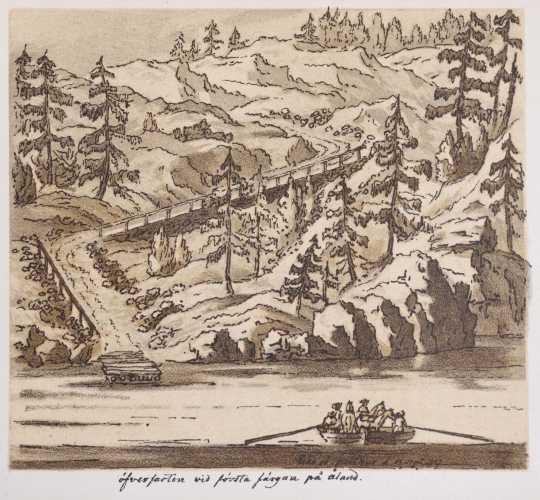 Ehrensvärd, Augustin. Anteckningar under en resa i Finland år 1747.