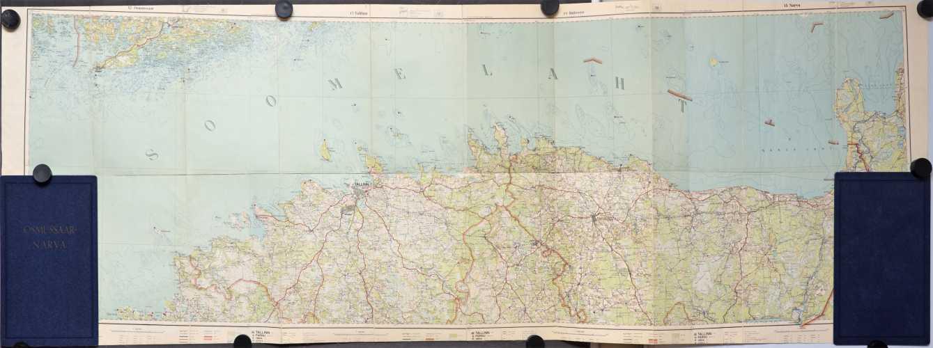 Viro 1:200 000 vuosilta 1933-1938
