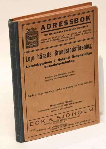 Adressbok för Mellersta Nylands kommuner 1924