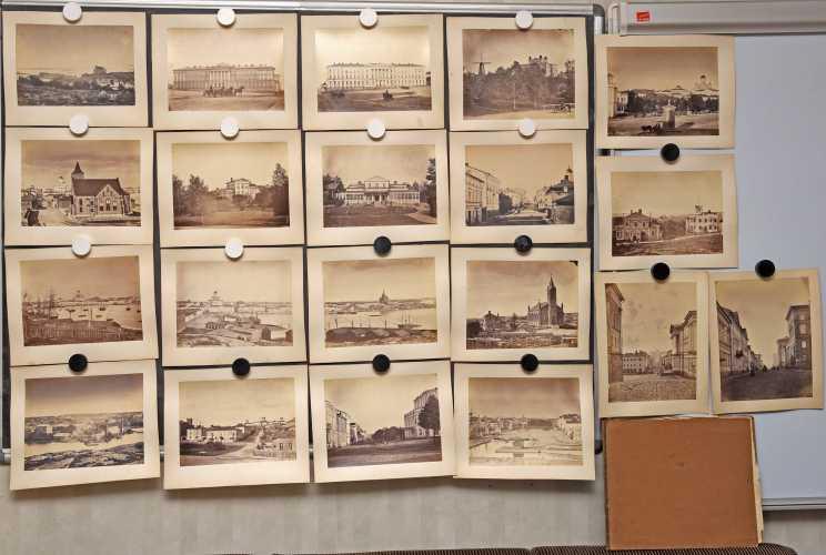 Hårdh, C.A. 20 elsinki-aiheista valokuvaa 1860-luvun lopulta.