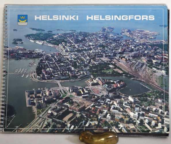 Helsingin ilmakuvakartta 1:10 000 vuodelta 1990