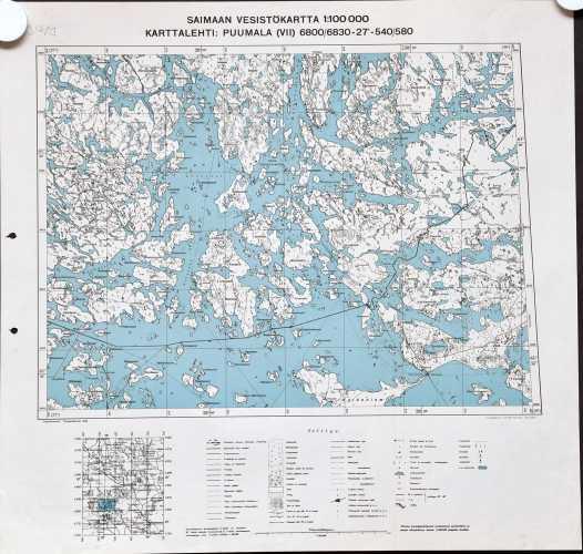 Puumala (Saimaan vesistökartta)