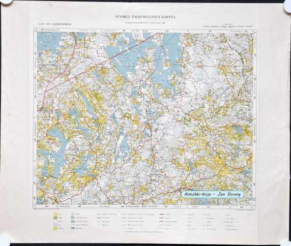 Lahdenpohja (Suomen taloudellinen kartta 65)