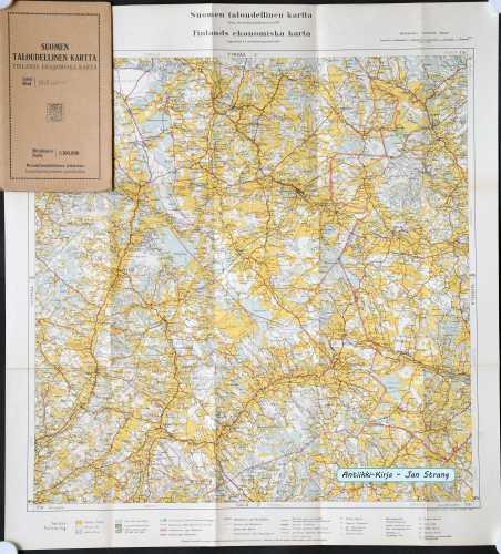 Loimaa (Suomen taloudellinen kartta III/4)