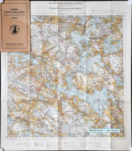 Tampere (Suomen taloudellinen kartta IV/5)