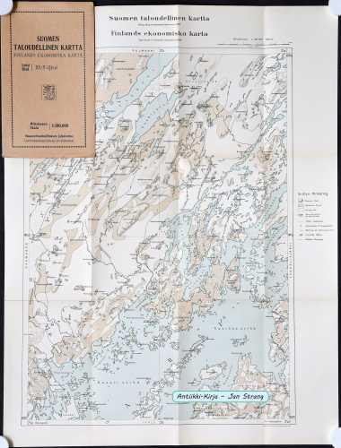 Iijärvi (Suomen taloudellinen kartta XX/9)