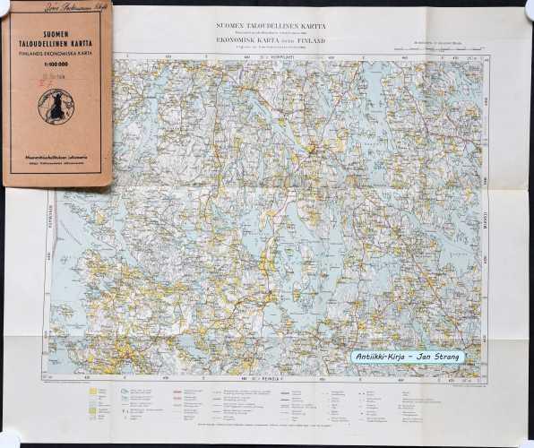 Hartola (Suomen taloudellinen kartta 61)
