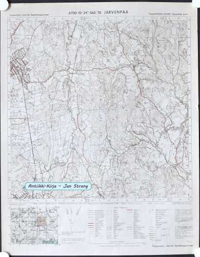 Järvenpää (Topografinen kartta 1:20.000 nro 204309)