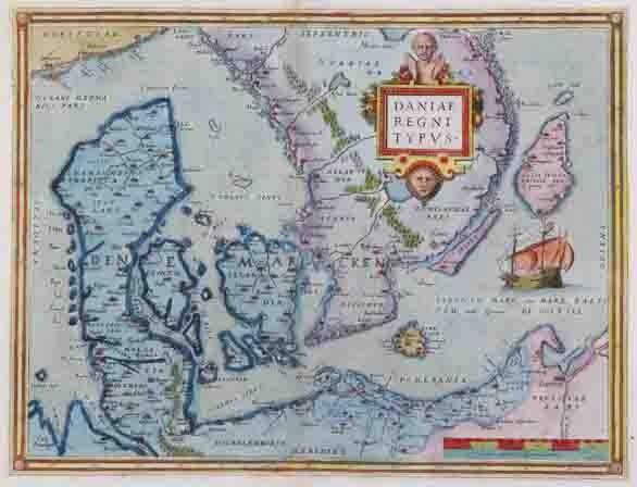 Ortelius - Denmark