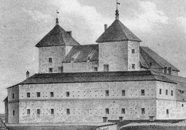 LINDESTRÖM, A. W. Kronoborgs slott (Tavastehus slott)