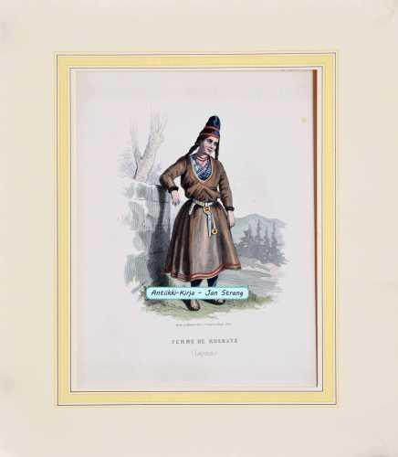 Femme de Koskatz (Laponie)