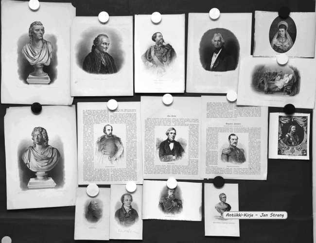 Portretteja 1800-luvulta (15 kpl)