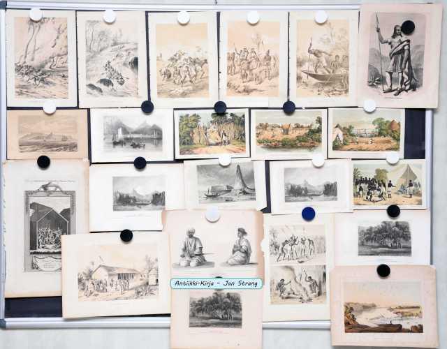 Afrikka - 1800-luvun grafiikkaa (37 kuvaa)