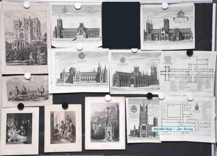 Brittein saaret - 1800-luvun grafiikkaa (23 kuvaa)