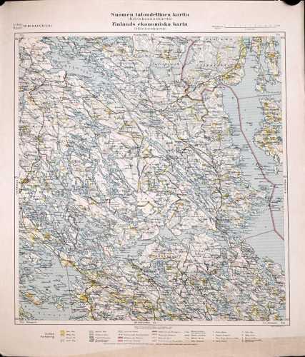 Heinävesi (Suomen taloudellinen kartta VI/10)