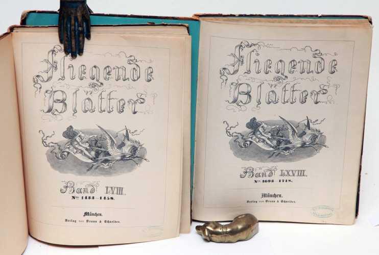 Fliegende Blätter. Band LVIII & LXVIII. 1873 & 1878