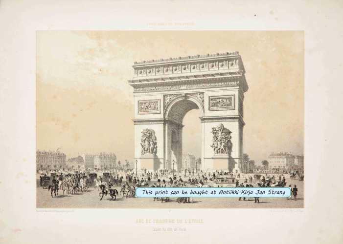 BENOIST, P. Arc de Triomphe de l'Etoile
