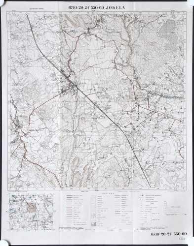 Jokela (Topografinen kartta 1:20.000 nro 204307)
