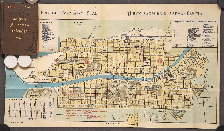Adresskalender för Åbo stad - Åbo stads adresskalender 1901-1902