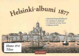 Helsinki-albumi 1877 - Kokoelma kaupunkinäkymiä